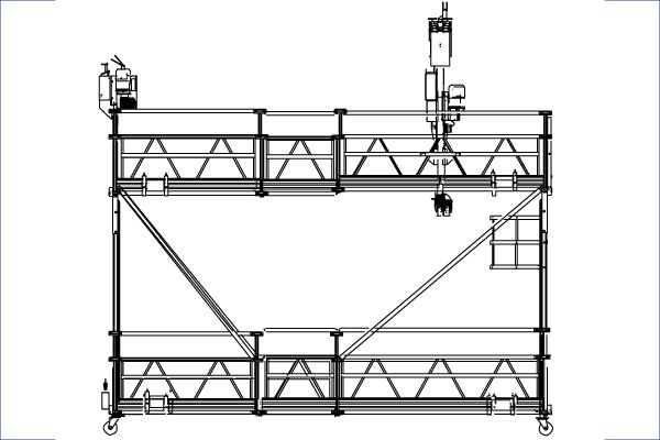 G-worklift als Hängebühnensystem