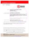 G-lock Zulassung Zertifikat