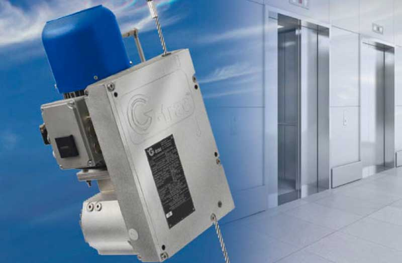 Der G-liftup zur Gerüstlosen Aufzugsmontage