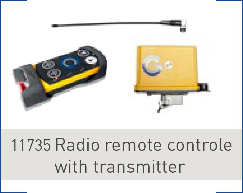 Radio remote control for G-smartrac